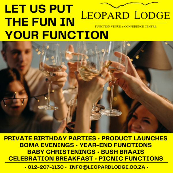 book your next function now